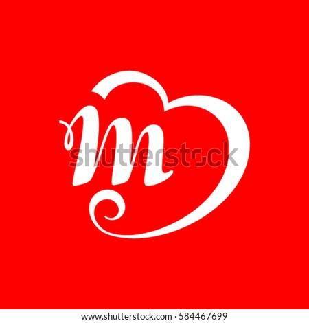 Letter M Logo Stock Vector 584467699