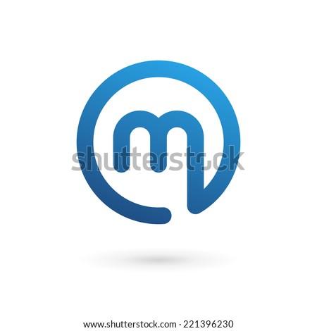 M Logo Design Letter M Logo S...