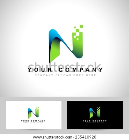 Letter n Logo Design Letter n Logo Design