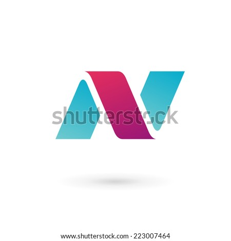 Letter n Logo Design Letter n Logo Icon Design