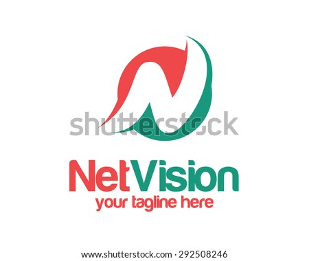 Letter n logo template simple clean stock vector 292508246 letter n logo template simple and clean letter n logo vector circle letter n maxwellsz