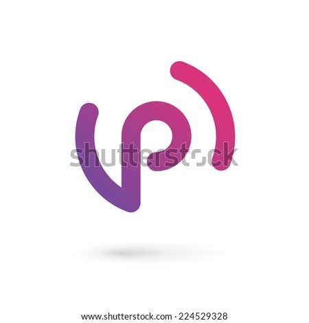 """arbuz's """"letter p logos"""" set on shutterstock"""