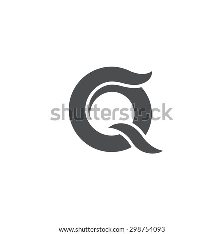 Letter q logo stock images royalty free images vectors letter q logo symbol vector icon grayscale version reheart Gallery