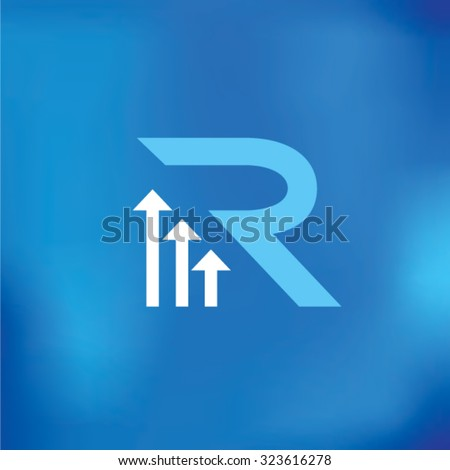 Letter R Logo Icon Design Template Elements - stock vector