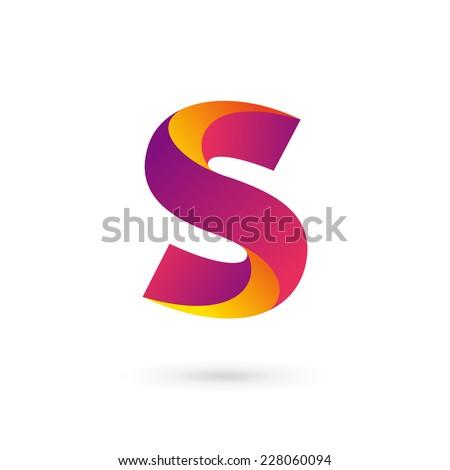 Letter S Logo Icon Design Template Stock Vector 228060079 ...