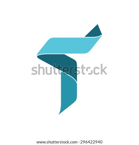 Letter T Logo design template. - stock vector