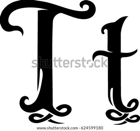 Letter T Monogram Design