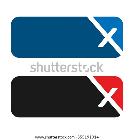 x logo stock images royaltyfree images amp vectors