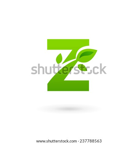 letter z leaves stock images royalty free images vectors