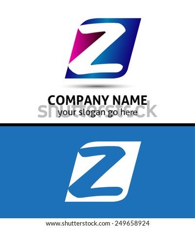 Letter Z Logo Icon  - stock vector