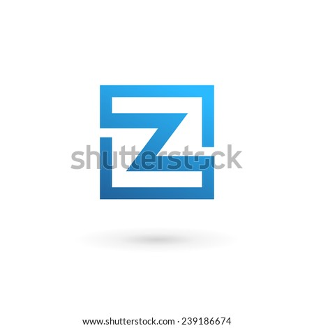 z 3d logo design  Letter Z logo icon