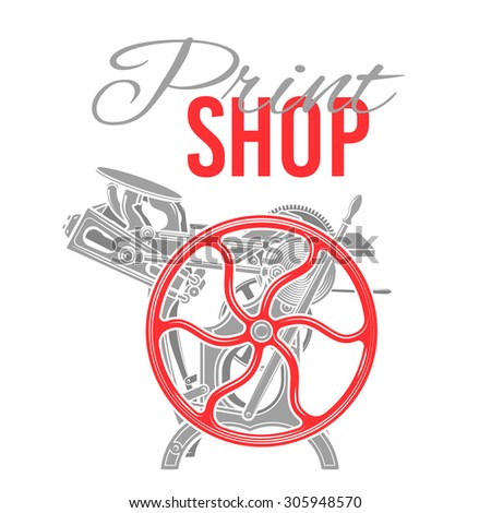 Printshop Stock Vectors, Images & Vector Art | Shutterstock