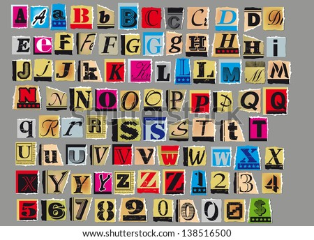 Anonymous Letters Stock Images, Royalty-Free Images & Vectors ...