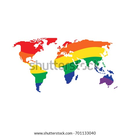 Vector Climate World Map Stock Vector Shutterstock - Climate world map