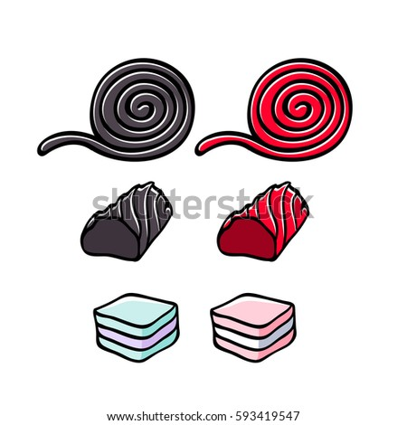 Licorice stock images royalty free images vectors for Licorice coloring page