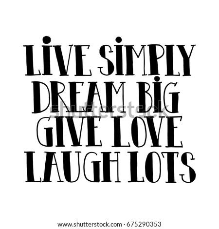 Live Love Laugh Quote Gorgeous Live Love Laugh Quote Stock Images Royaltyfree Images & Vectors