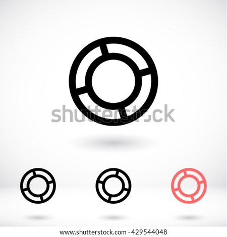 Lifebuoy Icon, lifebuoy icon flat, lifebuoy icon picture, lifebuoy icon vector, lifebuoy icon EPS10, lifebuoy icon graphic, lifebuoy icon object, lifebuoy icon JPEG, lifebuoy icon picture - stock vector