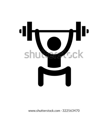 lifting weights icon