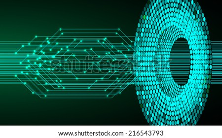 Light Abstract Technology background for computer graphic website and internet, circuit board.