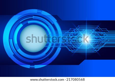 Light Abstract Technology background for computer graphic website and internet, circuit board.  - stock vector