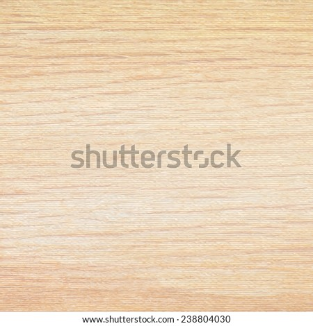 Light beige wood texture background. Natural pattern swatch template. Vector  - stock vector