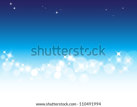 light blue abstract background in vector for design - stock vector