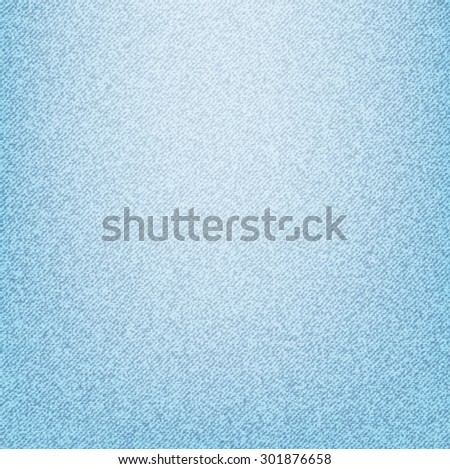 Light blue jeans texture.Vector illustration. - stock vector