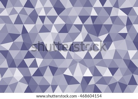 light blue polygonal background. vector illustration. for design, business cover, card, wallpaper