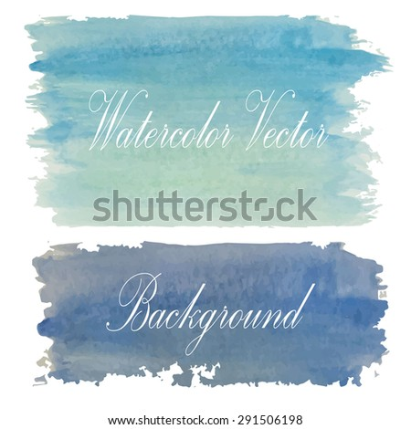 Light blue tone with retro vintage style and isolate on white background in summer.Love hipster wedding card - stock vector