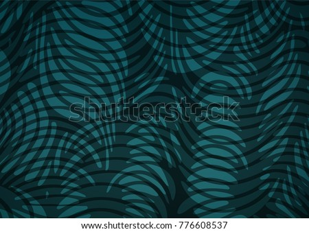 Light BLUE vector natural elegant background. Ethnic elegant natural pattern with gradient. A completely new template for your business design.