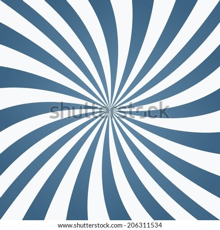 Light blue whirl pattern background - vector version - stock vector