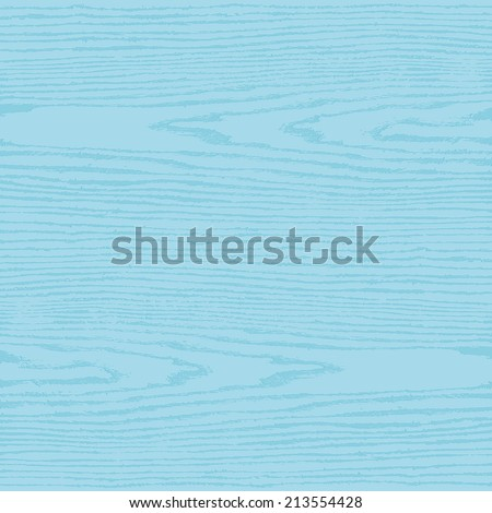 Light blue wood texture background in square format. Blank natural pattern swatch template. Realistic plank with annual years circles. Flat style. Vector illustration design elements in 10 eps - stock vector