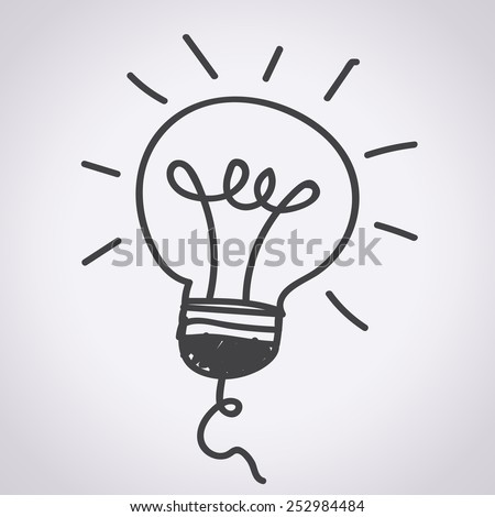 Light bulb and LED lamp , Bulb Icon , bulb,  idea icon,  light icon - stock vector