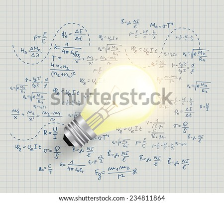 Light bulb concepts  - stock vector