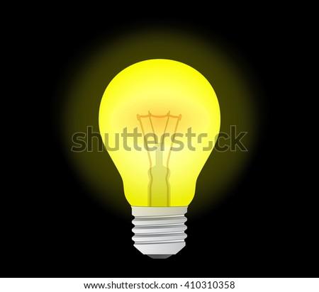 light bulb Icon. light bulb Icon Vector. light bulb Icon Art. bulb Icon eps. bulb Icon logo. light bulb Icon Sign. light bulb Icon Flat. light bulb icon app. light bulb icon UI. light bulb icon web - stock vector