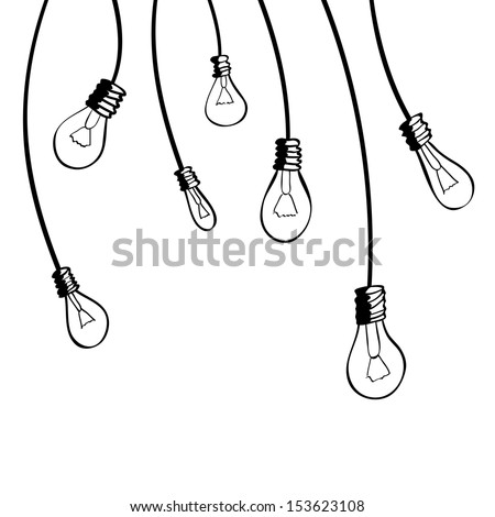 Light bulbs. Vector illustration - stock vector