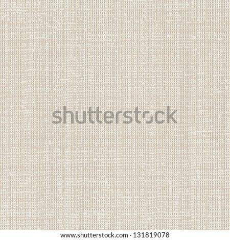 Light canvas texture seamless - stock vector