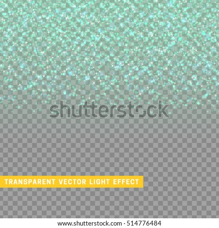 light effect blue texture glowing rain of confetti. Glitter particles shining stars. Christmas background Bright design element. Xmas decoration luxury greeting card