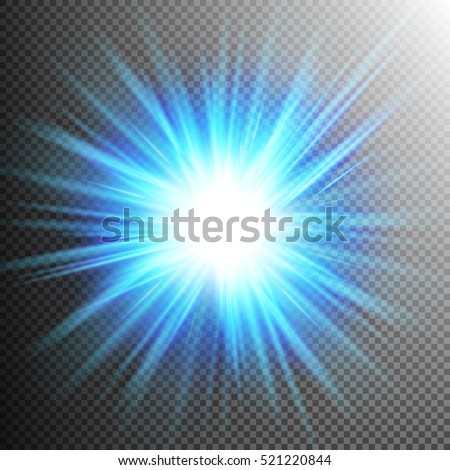 Light Effect Transparent Flare Lights. EPS 10 vector file included