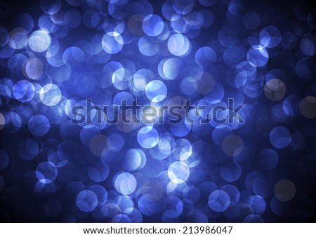 Light festive background. Elegant abstract background with bokeh defocused lights.
