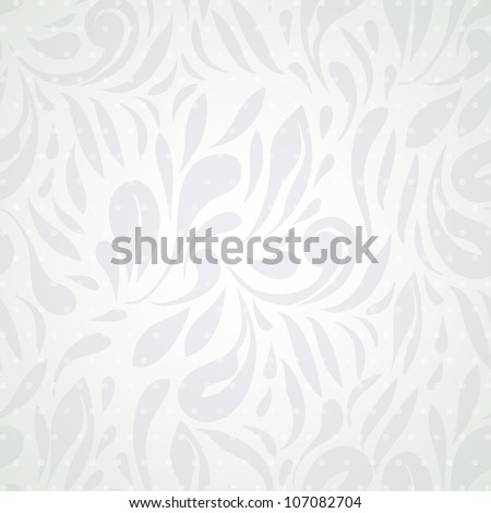 Light Floral Background, abstract elegant wallpaper. - stock vector