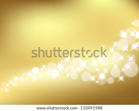 Gold Lights Backgrounds Light golden abstract