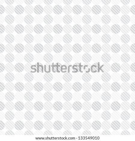 light gray dots seamless pattern - stock vector