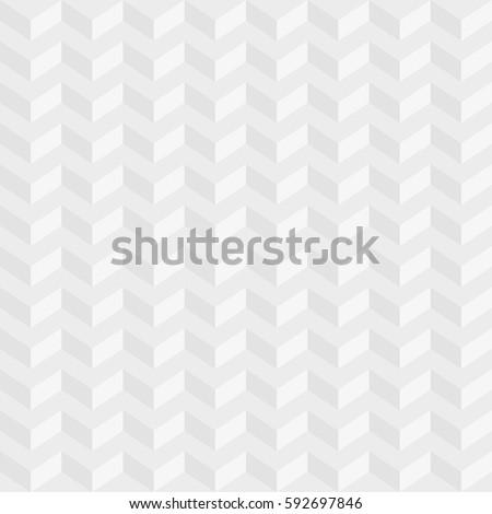 Light Gray Isometric Chevron Pattern Neutral Seamless Herringbone Wallpaper For Modern Design In Flat