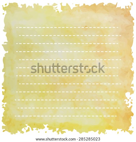light line orange yellow with stripe string slanting line retro vintage style and isolate love summer card