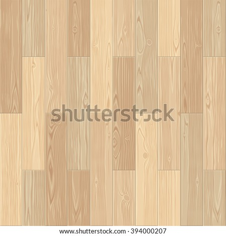 Light parquet seamless floor texture. Editable vector pattern in swatches.