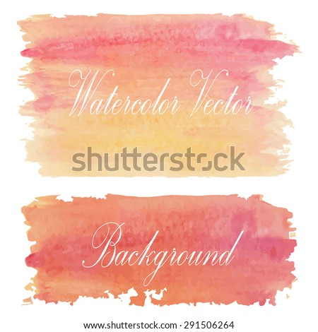 Light red yellow orange and sun tone with retro vintage style and isolate on white background in summer.Love hipster wedding card - stock vector