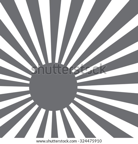 light scattered behind - stock vector
