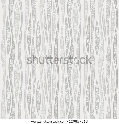 Light seamless pattern. Elegant vector background - stock vector