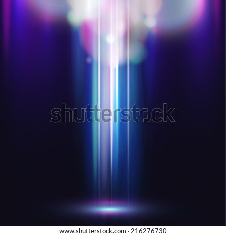 light vector abstract background unusual illustration - stock vector